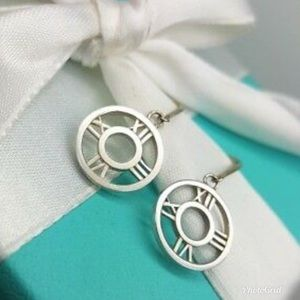 Tiffany and Co Atlas Dangle Earrings